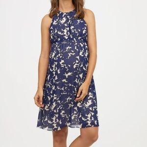 H&M MAMA Maternity Floral Sleeveless Dress- NWT-SM